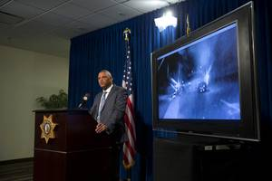 Las Vegas Metro Police Capt. Robert Plummer discusses the investigation ...