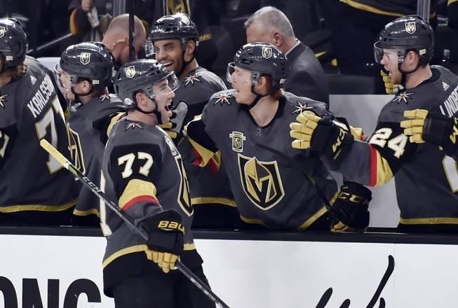 Third-period rally lifts Knights past Blackhawks