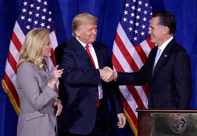 President Trump endorses Mitt Romney's US Senate bid