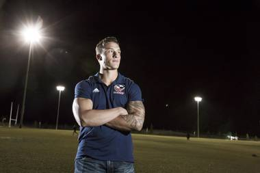 Las Vegas' Devin Short was one of 90 athletes in four sports invited to the U.S. Olympic Training Center in Colorado Springs, Colorado, last July — and ultimately he became the lone male rugby player selected to train with the national team.
