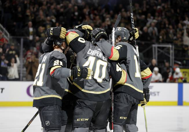 Golden Knights Flames