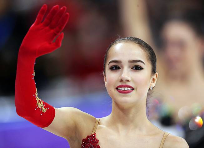 Alina Zagitova claims figure skating gold with sublime performance