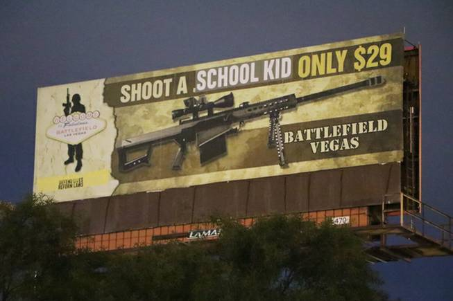 Group takes credit for 'Shoot a School Kid' billboard