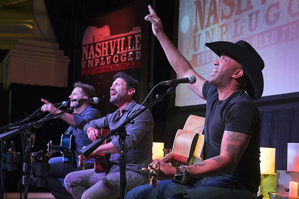 Aaron Benward launched Nashville Unplugged almost nine years ago at Green Valley Ranch Resort and brought it to the Strip in 2016.