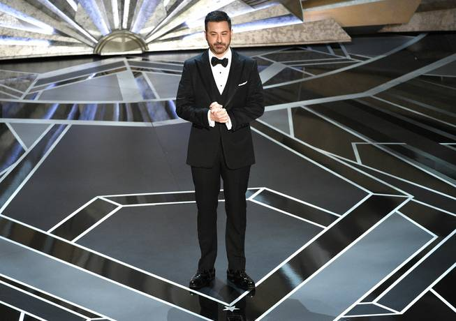 Jimmy Kimmel kicks off Oscars gala with Weinstein barbs