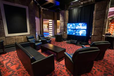 Man Caves at Planet Hollywood has complimentary drinks, private buffet, living room viewing space and giveaways for its NCAA Tournament viewing party.