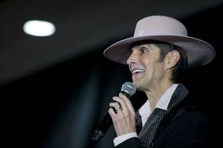 Lollapalooza founder Perry Farrell speaks during a news conference for Kind Heaven, a Southeast Asian-themed entertainment complex, at the Linq Tuesday, March 13, 2018. Kind Heaven, a partnership between Farrell, Immersive Artistry and Caesars Entertainment is expected to open in the Linq Promenade in 2019.