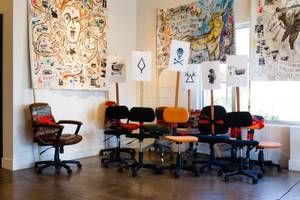 Adam Turl's 'Revolt of the Swivel Chairs' Exhibit