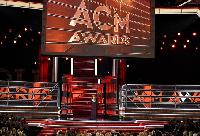 Academy of Country Music Awards at the MGM Grand Garden