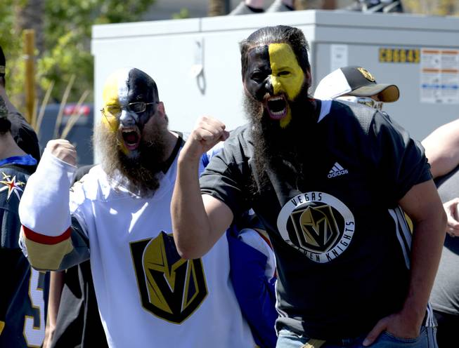 Vegas Golden Knights Send-off for the LA Games
