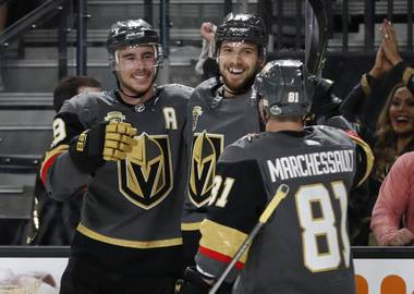 To say the Golden Knights blew the Sharks out of the water in game one of their second-round playoff series, would be downplaying the performance. Vegas made a statement with a 7-0 win over San Jose Thursday night at T-Mobile Arena...