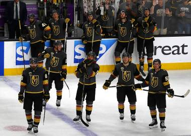 The Golden Knights came as close as you can come to winning a hockey game without actually winning it, Saturday night at T-Mobile Arena...