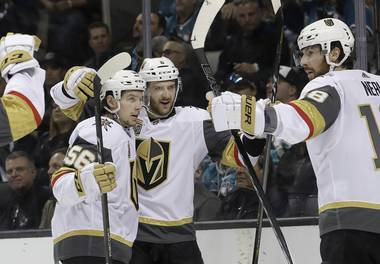 The Golden Knights have stolen home ice advantage back for the second round of the playoffs. Vegas entered a crazed SAP Center in San Jose Monday night and emerged with a 4-3 ...