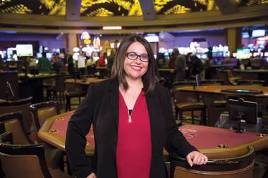 Michelle Bacigalupi is the vice president/assistant general manager at Rampart Casino/JW Marriott.