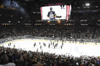 The Vegas Golden Knights have entered a multiyear partnership with William Hill US, becoming the first-ever NHL team to partner with a sportsbook. The partnership will feature a TV visible dasher board, in-arena signage, updated ...