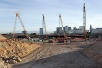 Tariffs on imported steel put into place by President Donald Trump aren't expected to change the Las Vegas stadium project's overall cost, officials said today during a ...