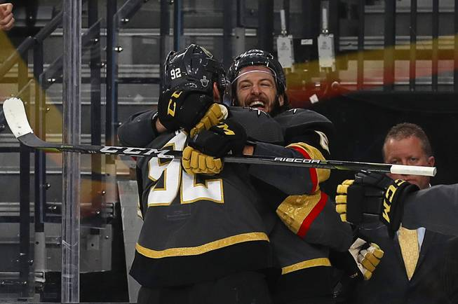 Smith scores victor to put Knights on brink of National Hockey League finals