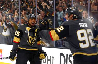 Ryan Reaves heard a cracking sound and knew he broke his stick at a recent Golden Knights practice at City National Arena. The stick didn't shatter into pieces, but it was no longer useful on the ice. It wasn't past the point of being able to make a young fan's day, however. In the middle of practice, Reaves skated to ...