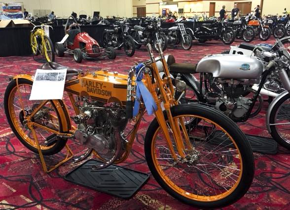 After expanding its presence in Las Vegas in 2017, Mecum Auctions is back today with a motorcycle auction featuring about 600 bikes.