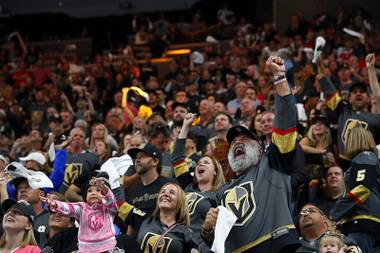 In the preseason, when many NHL arenas are half full, the Golden Knights played in front of 17,958 fans on Sunday. Yes, it's safe to assume tickets will again be tough to land for home games, starting Thursday for the season opener against visiting Philadelphia. Last year, the Golden Knights ...