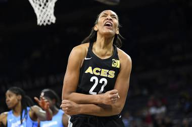 A'ja Wilson is her own biggest critic, and her frustration is understandable. Her South Carolina team lost back-to-back games just once during her four-year college career. So a 0-4 start against middling WNBA competition came as a shock to her system.