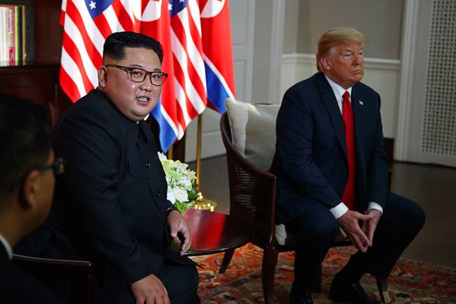 Trump's newfound affinity for Kim making Americans safer