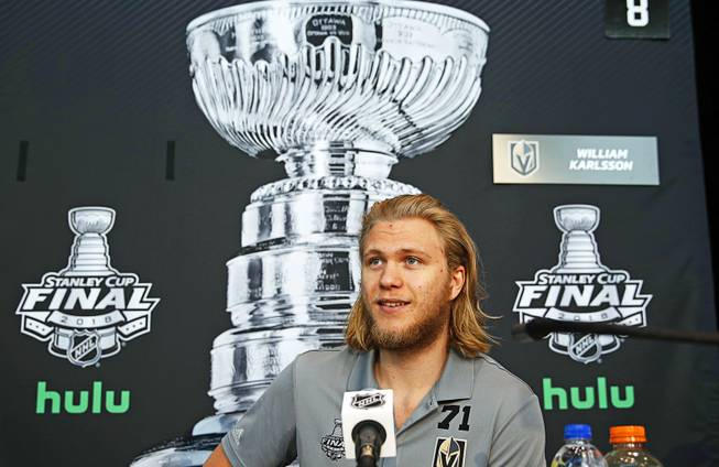 22982cd483f Sources: Golden Knights' William Karlsson files for salary ...