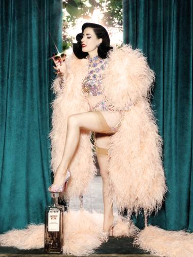 The always glamorous Dita Von Teese is back in Vegas this week with an all-new show.