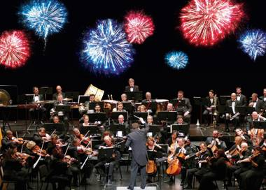 The Las Vegas Philharmonic celebrates the Fourth of July and its 20th anniversary with the Star Spangled Spectacular.