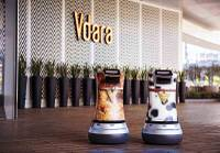 When guests order an item to their room at one Las Vegas resort, a robot is likely to show up at their door ...