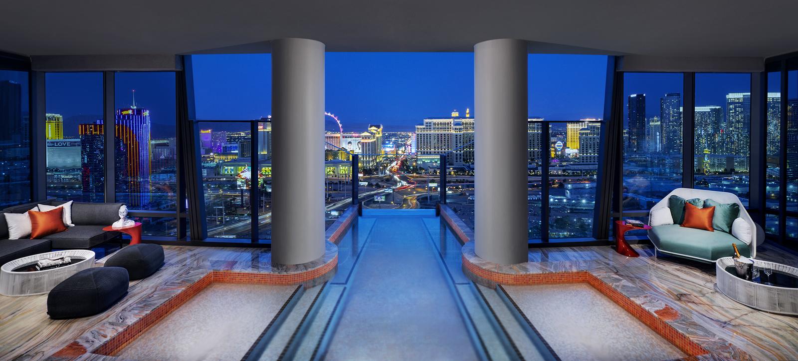 Os Indoor Outdoor Infinity Pool Of A 40k Night Hotel
