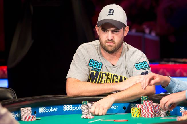 2018 WSOP Main Event Table of 9