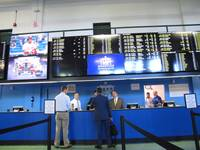 Two casinos and a racetrack in New Jersey took in $16.4 million in sports bets during the first two weeks such wagers were legal in the state. Figures released today by the state Division of Gaming Enforcement show the ...