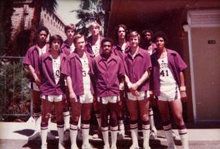 Las Vegas Stars circa 1974. Team made up of players from Las Vegas High School, Western High And Boulder City.