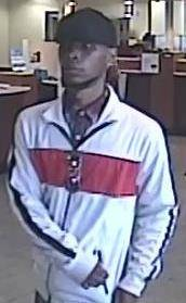 Henderson Police identified this man as a suspect in the robbery of a U.S. Bank branch in the 10000 block of Eastern Avenue on Monday, July 23, 2018.