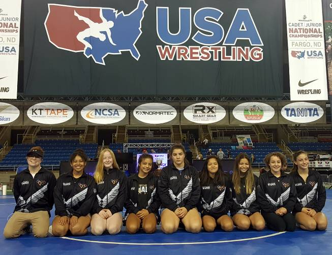 Girl wrestlers from Nevada making mark nationally - Las