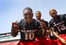 2018 UNLV Football Photo Day