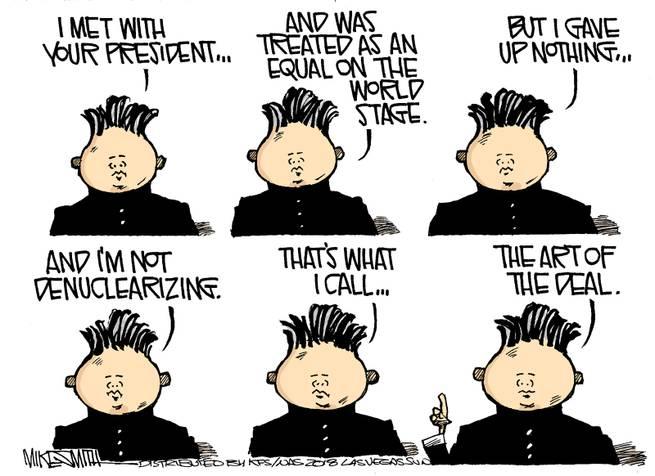 Kim Jong-Un says,
