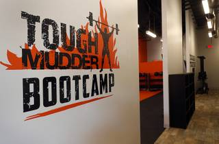 An interior view of the Tough Mudder Bootcamp gym, 6311 N. Decatur Blvd., Friday, Aug. 10, 2018. This year's Tough Mudder events take place on Oct. 20 and 21 at Lake Las Vegas.