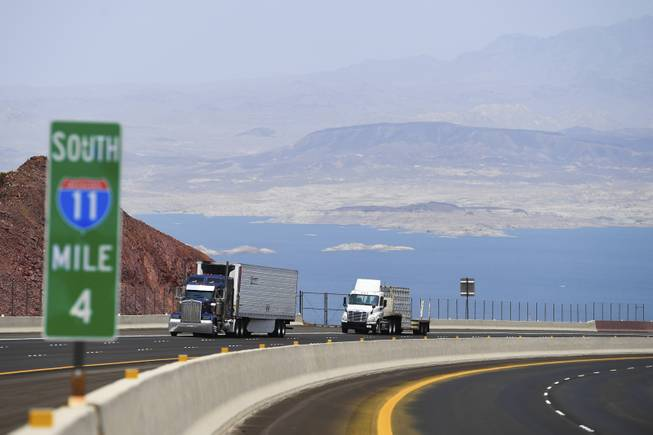 String of crashes on new stretch of Interstate 11 spurs