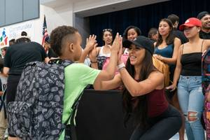 Drai's Cares Donates Backpacks and School Supplies
