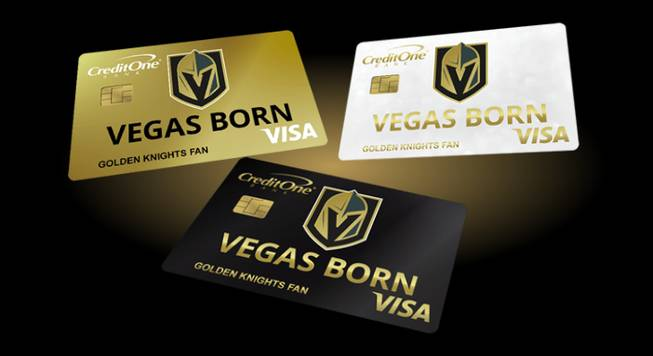 Golden Knights Credit Card