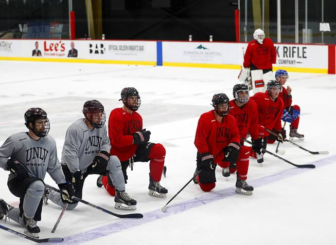 Thanks To Golden Knights Unlv Hockey Has Home Rink And A Program