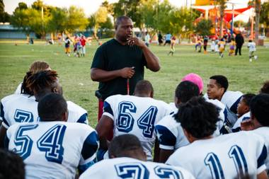 This year, Democracy Prep football team was elevated to Class 3A, the state's second-highest classification, pitting it against the likes of Moapa Valley, an established power, and Cheyenne, a school with eight times the enrollment. Democracy Prep only has 272 students ...