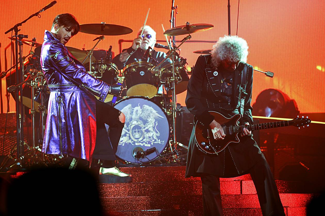 Queen + Adam Lambert played Las Vegas last year, a summer tour stop at T-Mobile Arena that blasted through the icon-level British rock band's hits with all the expected bombast. Now they are back on the Strip ...