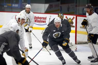 """Selfishly, I'm really pumped,"" says Paul Stastny, the Golden Knights' newest player. ""[Even] more off the ice than on the ice. In the locker room I have another forward that I'm familiar with. We're both learning new faces together. We're both going through the learning experience together."""