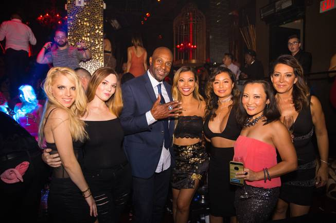 Jerry Rice at Tao.