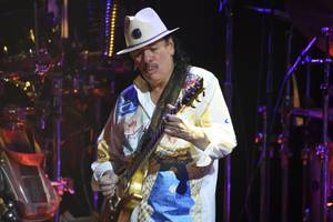 Carlos Santana at House of Blues