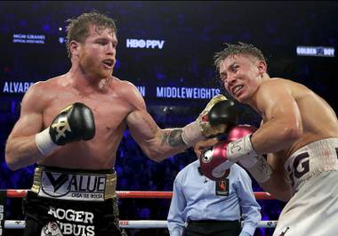 "Saul ""Canelo"" Alvarez out-punched Gennady Golovkin to a majority decision in the highly-anticipated rematch Saturday night at T-Mobile Arena ..."