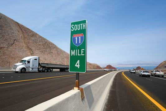 Phase II of the I-11 Boulder City Bypass was recognized as the NCA's Civil Project of the Year.